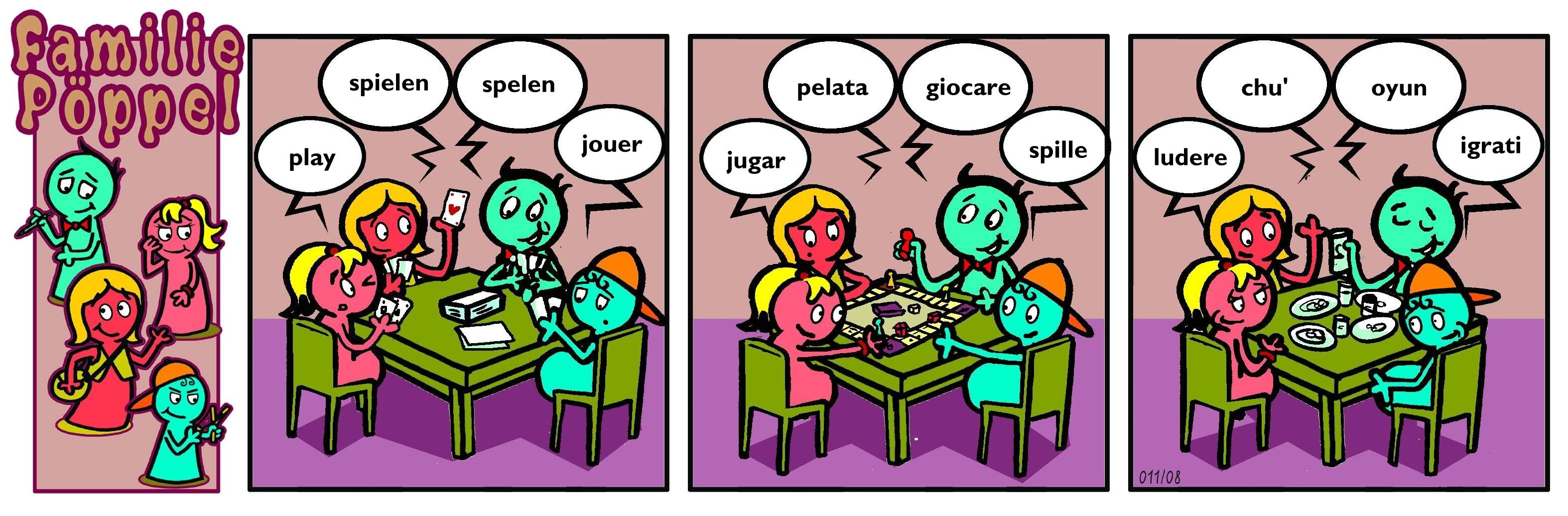 Spiele nach Sprachen