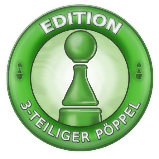 Edition 3-teiliger Pöppel