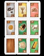 Kartensatz Rohstoffe (passend Siedler 3-4 Spieler)