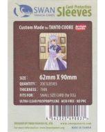 Kartenhüllen (Sleeves) für Spielkarten 62x90 mm 160 Stück (Tanto Cuore)