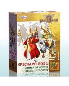 Wrath of Kings Specialist Box 1 Hammer of Heaven Shild of Taelfon
