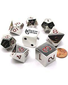 Set metal dice 22mm