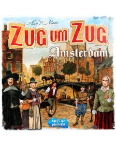 Ticket to Ride: Amsterdam (GER)