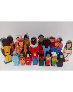 Nationenfiguren - Frauen