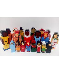 Nationenfiguren - Mädchen