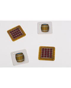 Quadrat 30x30 mm - Fass