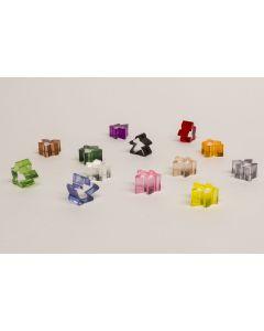 Carcassonne transparente Meeples - Auslaufartikel / discontinued item