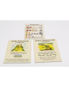 3 Pappteile (Basisspiel, 3-4 Spieler, 2. Edition EK)