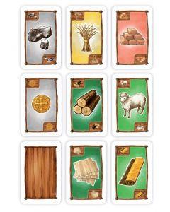 Rohstoffkarten (passend auch für Siedler)