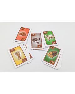 Kartensatz Rohstoffe (passend Siedler Erweiterung 5-6 Spieler)