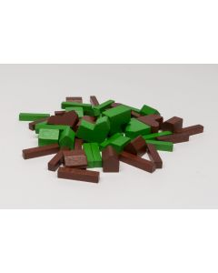 Wooden parts for CATAN base game 5-6 Players
