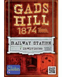 Gads Hill 1874  (GER/ENG) - Railway Station expansion
