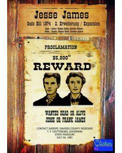 Gads Hill 1874  (GER/ENG) - Jesse James expansion