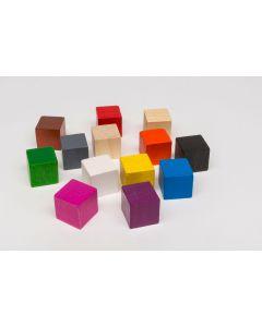 Cube 16 mm - white