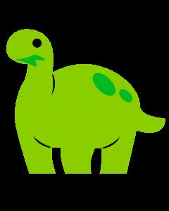 Dino Pflanzenfresser Token