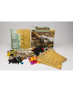Namibia (GER/ENG) - box damaged