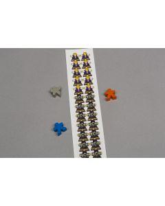Lignum - Labels for meeples