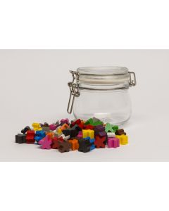 Bonbon glass - with small meeples