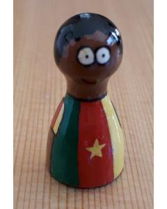 Handpainted pawns - Kamerun