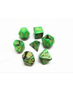 Blend color dice set green-black