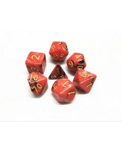 Blend color dice set red-black