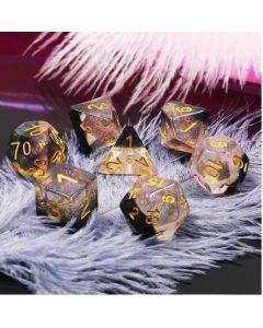 Dice set Crystal Ice