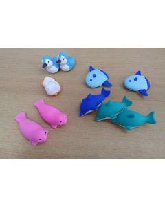 Puzzle Radierer Delphin