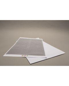 Karten auf Trägerpapier mit Rückseitenmotiv und beidseitiger Laminierung