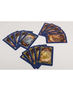 72 Spielkarten Münzen