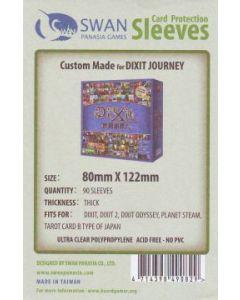 Kartenhüllen (Sleeves) für Spielkarten 80x122 mm 90 Stück (Dixit)