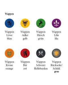 "Aufkleber ""Wappen"""