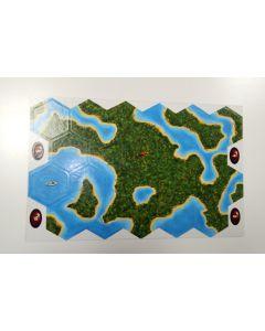 landscape counters hexagonal Amazonas