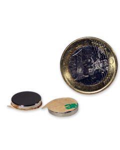 Magnetic disc, self-adh. Ø 12,0 x 2,0 mm Neodym