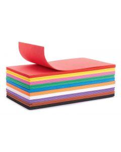 Foam rubber set in 10 colors