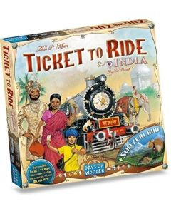 Ticket to Ride Map Collection: Volume 2 – India & Switzerland  (GER/ENG/FRA/ITA/ESP/NL)