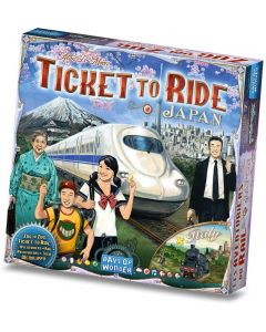 Ticket to Ride: Italy & Japan (GER/ENG/FRA)