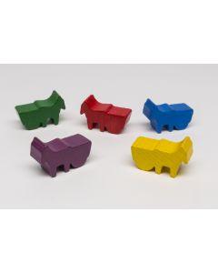 Donkey with wagon