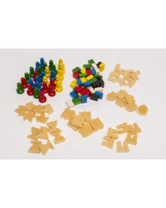 Set Spielfiguren Carrara