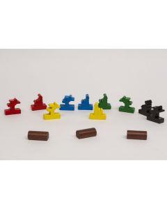 Set Spielfiguren von Flussläufer