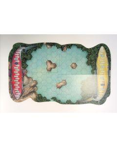 Spielplan SeaSim hexagonale Felder