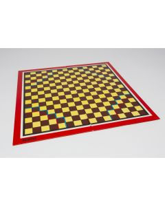 Chinese checkers game board, foldable