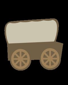 Covered wagon Tocken