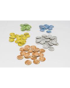 Münzen groß