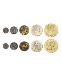 Set Metallmünzen Ägypten