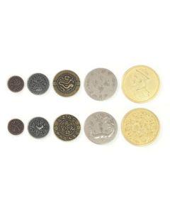 Set Metallmünzen China