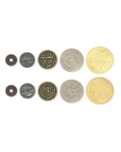Set  Metallmünzen Mongolei