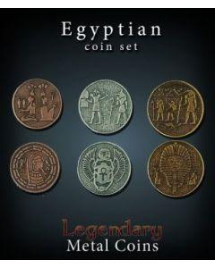 Set Metallmünzen groß Ägypten