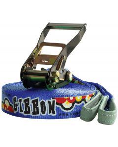 Gibbon Slackline Set Fun, blau - gebraucht