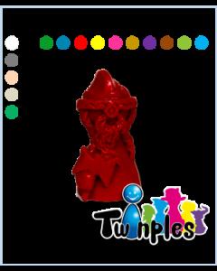 Twinple dwarf with axe
