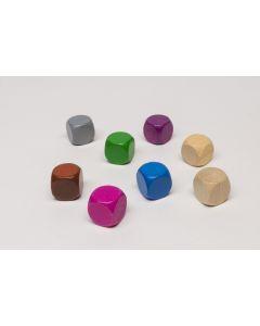 plain dice of width 16 mm